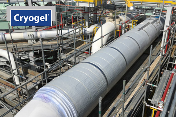 Cryogel Z at LNG facility